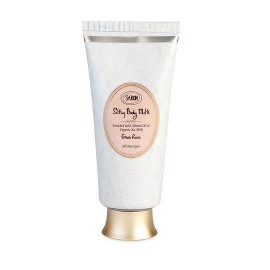 Silky Body Milk - Tube Green Rose