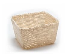 Crochet Basket Cream - M