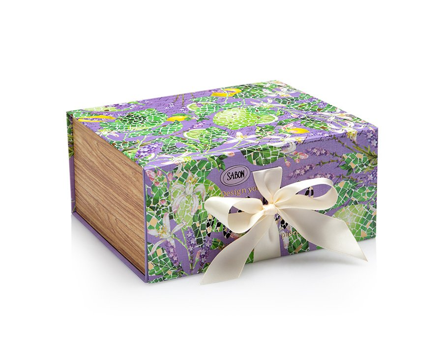 Magnetic Box Limy Lavender - S