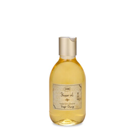 Shower Oil PET Ginger - Orange