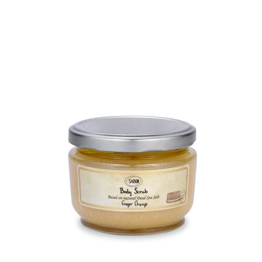 Small Body Scrub Ginger - Orange