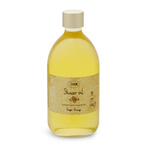 Bath Salt Shower Oil Ginger - Orange