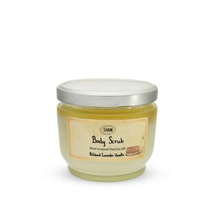 Gifts for Women Large Body Scrub Patchouli - Lavender - Vanilla