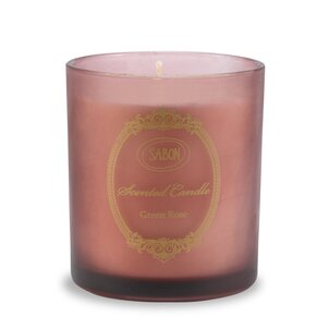 Home Fragrances Large Candle in Glass Green Rose
