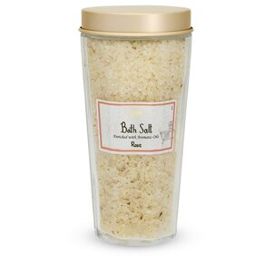 Accessories for bath and shower Bath Salt Rose