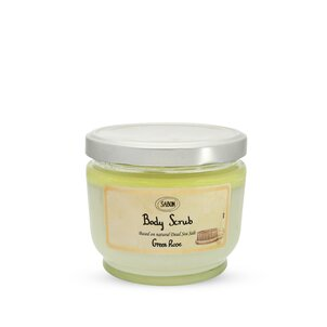 Hand Creams and Treatments Large Body Scrub Green Rose