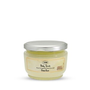 Spring Gifts Small Body Scrub Green Rose