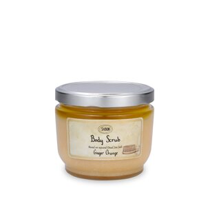 Body Creams Large Body Scrub Ginger - Orange