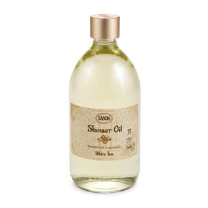 Bath Salt Shower Oil White Tea