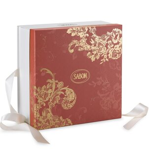 Gift Boxes Logo Box Coral Red - L