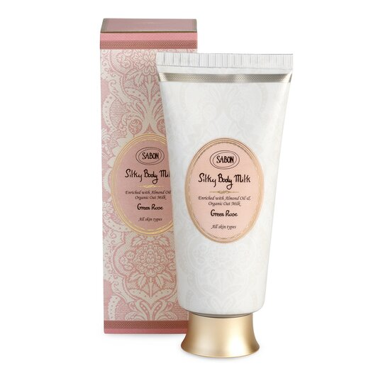 Silky Body Milk Green Rose