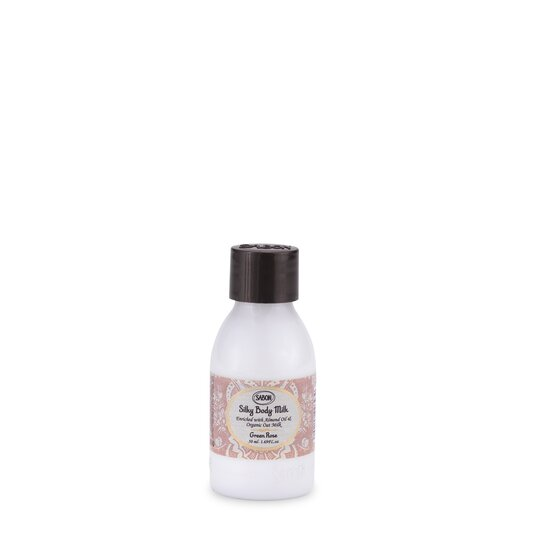 Mini Silky Body Milk PET Green Rose