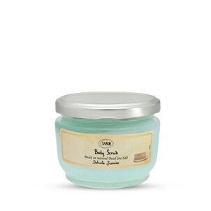 Travel size cosmetics Body Scrub Jasmine