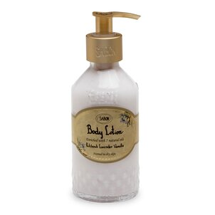 Body Lotion Bottle Patchouli Lavender Vanilla