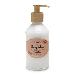 Körper-Peelings Bodylotion - Flasche Green Rose