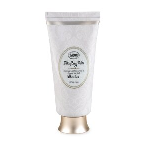 Silky Body Milk - Tube White Tea