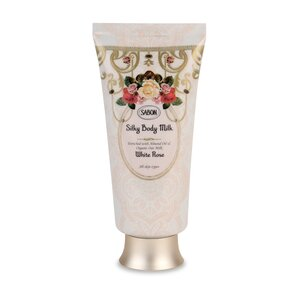 Silky Body Milk - Tube White Rose