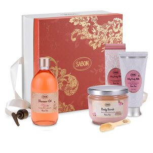 Geschenkset Body Care Rose Tea - L